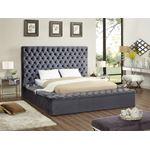 Bliss Queen Grey Bed Room Scene
