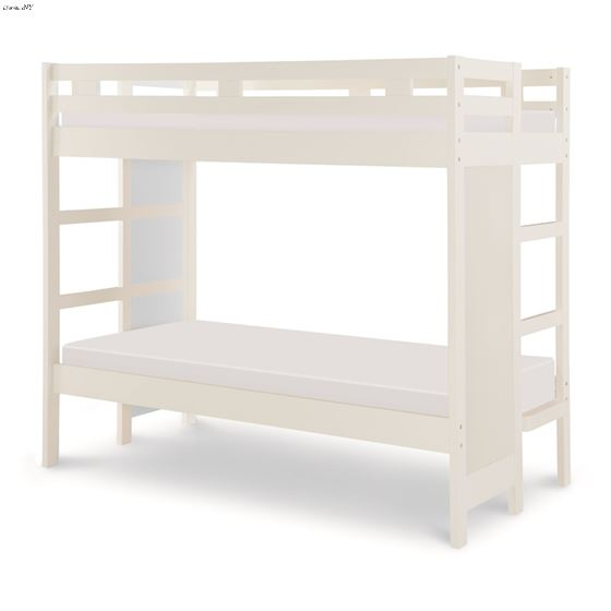 LEGACY_Chelsea_Twin / Twin Bunk Bed_White
