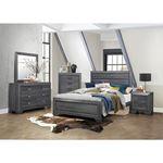 Beechnut Grey Finish 6 Drawer Dresser 1904GY-5 in set