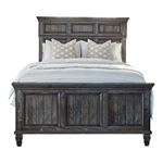Avenue Weathered Burnished Brown Queen Panel Bed 223031Q By Coaster