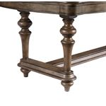 Heath Court Double Pedestal Trestle Dining Table 1682-108 base