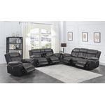 Saybrook Charcoal Tufted Cushion Power Reclining-3