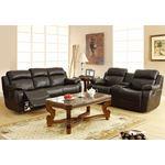 9724BLK-3 Marille Reclining Sofa