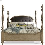 The Corinne Poster Bed in Acacia Finish By Riverside Furniture