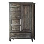 Avenue Weathered Burnished Brown 6 Drawer Mans Door Chest 223040 By Coaster