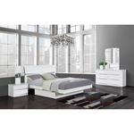 Aurora White Modern 6 Drawer Dresser by Global F-3