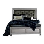 The Bevelle Collection Tufted Queen Bed 1958-1