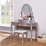 Caroline Metallic Lilac Vanity Mirror 400897-3