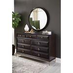 Formosa Round Dresser Mirror Americano 222824-3