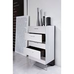 Volterra Modern Grey and Brown Oak Chest- 3