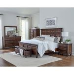 Avenue Weathered Burnished Brown King Panel Bed-3