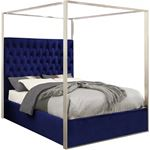 Porter Navy Canopy Bed