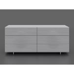Moon High Gloss White Lacquer Dresser by Casabianc