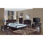 Aurora Wenge Modern 6 Drawer Dresser by Global F-3