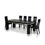 Modrest Maxi Modern Black Oak Dining Table