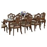 Moorewood Park Dining Table 1704-108 by Homelegance