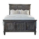 Avenue Weathered Burnished Brown King Panel Bed 223031KE By Coaster