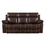 Myleene Chestnut Recliner Sofa with Drop Down Ta-3