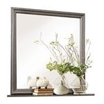 Mayville Grey Square Mirror 2147SG-6 by Homelegance