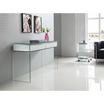 Ibiza High Gloss White Lacquer Console Table - 3