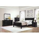 Mayville Black 5 Drawer Chest 2147BK-9-3