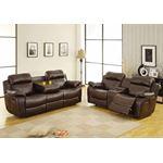 9724BRW-3 Marille Reclining Sofa