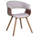 Holt Light Grey Arm Chair 403-981GY by Inspire