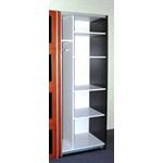 ACE Irbis Dark Oak Wardrobe inside2