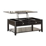 Carrier Dark Espresso Lift Top Coffee Table 3257RF-30 By Homelegance