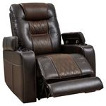Ashley 21507 Composer Power Recliner Chair Open