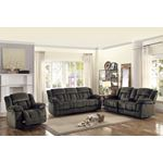 Laurelton Chocolate Reclining Chair 9636-1 by Ho-3