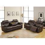 9724BRW-3 Marille Reclining Sofa - 3