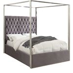 Porter Grey Canopy Bed