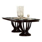 Savion Double Pedestal Trestle Dining Table 5494-106 by Homelegance