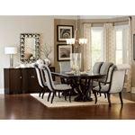 Savion Double Pedestal Trestle Dining Table 5494-106 in Set
