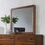 Robyn Dark Walnut Rectangular Mirror 205134-3