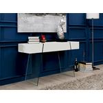 IL Vetro Cabana High Gloss White Console Table - 3