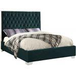 Lexi Green Platform Bed
