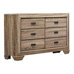 Beechnut Natural Finish 6 Drawer Dresser 1904-5 by