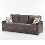 Bennett Sofa Bed in Armoni Brown by Istikbal