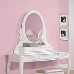 Caroline White Vanity Mirror 400727 By Coaster