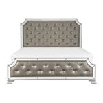 The Avondale Collection Tufted King Bed 1645