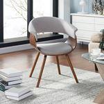 Holt Light Grey Arm Chair 403-981GY-3