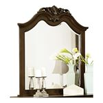 Mont Belvieu Cherry Finish Arched Mirror 1869-6 by Homelegance