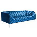 Providence Blue Velvet Tufted Sofa 900282 by Zuo