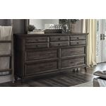 Avenue Weathered Burnished Brown 10 Drawer Dress-3