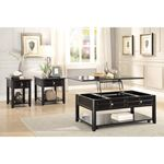 Carrier Dark Espresso Lift Top Coffee Table 3257-3