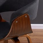 """Holt 26"""" Charcoal Grey Counter Stool 203-981 detail"""