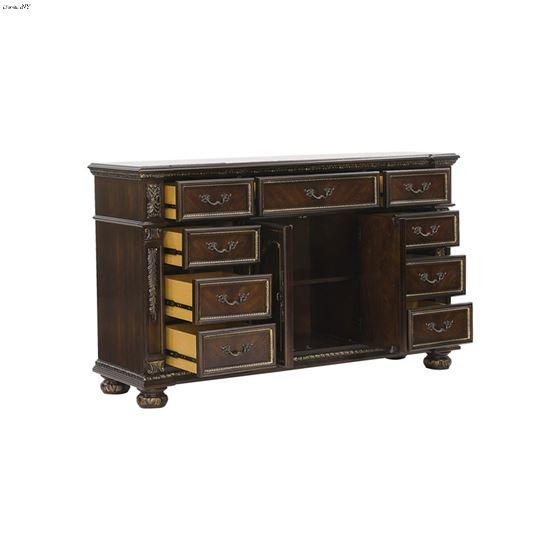 Catalonia Traditional Cherry 9 Drawer Dresser 18-3