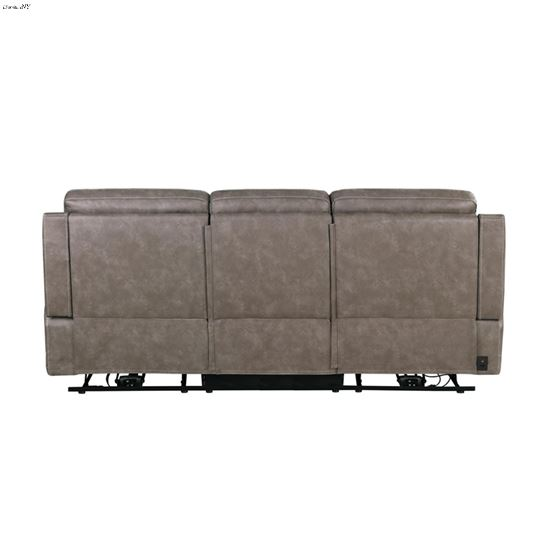 Wixom Taupe Power Reclining Sofa 603517PP Back
